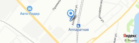 Хунда на карте Екатеринбурга
