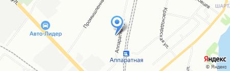 Flexter на карте Екатеринбурга