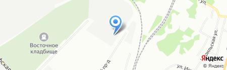 Автозапчастьсервис на карте Екатеринбурга
