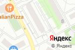 Схема проезда до компании Кристи в Екатеринбурге