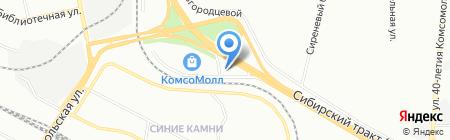 КЛМ-Арт на карте Екатеринбурга
