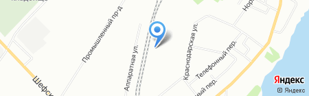 ЛАЭС на карте Екатеринбурга