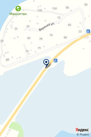 АЗС АГАТ на карте Озерска