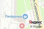 Схема проезда до компании Золотое пенсне в Екатеринбурге