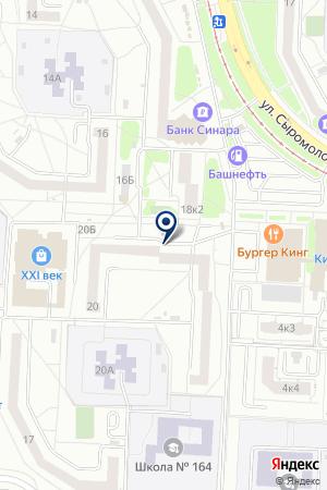 Барс на карте Екатеринбурга