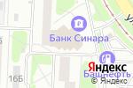 Схема проезда до компании 3D в Екатеринбурге