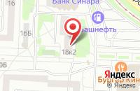 Схема проезда до компании Трейдлайн в Екатеринбурге