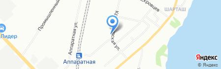 ВитаХим на карте Екатеринбурга