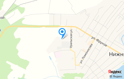 Местоположение на карте пункта техосмотра по адресу Свердловская обл, г Нижняя Салда, ул Строителей, д 74