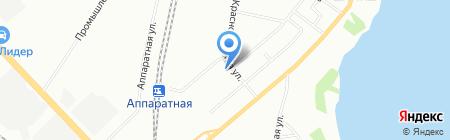 ЮГ-Термотехника на карте Екатеринбурга
