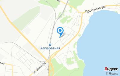 Местоположение на карте пункта техосмотра по адресу г Екатеринбург, ул Краснодарская, стр 13