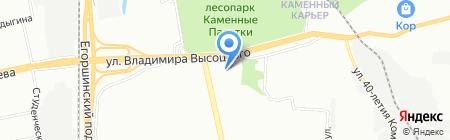 Qiwi на карте Екатеринбурга