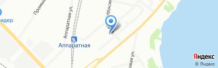 А-Транс на карте Екатеринбурга