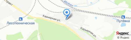 Шиномонтаж на карте Екатеринбурга