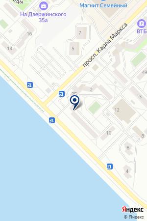 АЗИЯ-АВТО ГСМ на карте Озерска