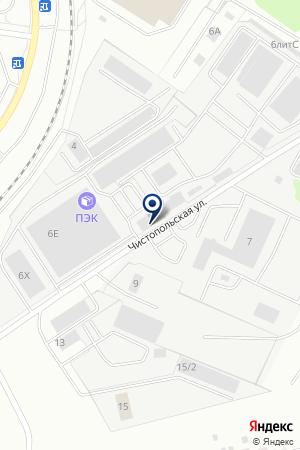 Santars на карте Екатеринбурга