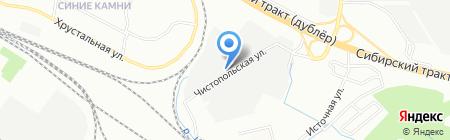 СантехСклад на карте Екатеринбурга