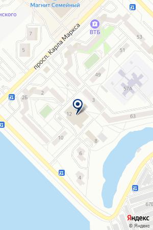 АЗС на карте Озерска