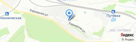 Торгово-производственная компания на карте Екатеринбурга