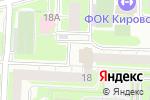 Схема проезда до компании Лу-На в Екатеринбурге