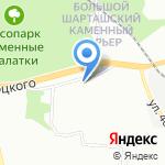 Физкультурно-оздоровительный комплекс Кировский на карте Екатеринбурга