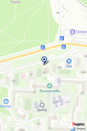 МАУ на карте Екатеринбурга