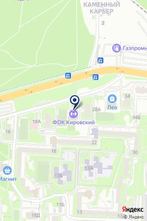 Барракуда на карте Екатеринбурга