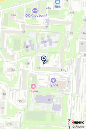 Станция детского технического творчества на карте Екатеринбурга