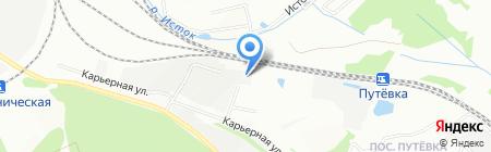 Лесная лавка на карте Екатеринбурга
