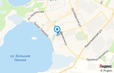 Местоположение на карте пункта техосмотра по адресу Челябинская обл, г Озерск, ул Монтажников, д 3