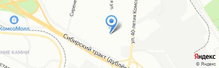 Средняя общеобразовательная школа №150 на карте Екатеринбурга
