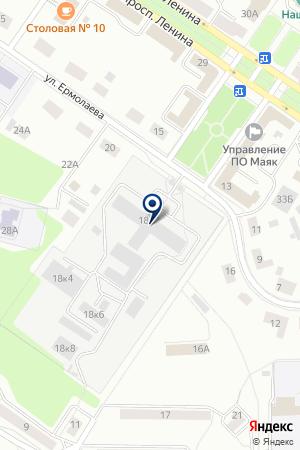 АВТОСЕРВИС МОМЕНТ на карте Озерска