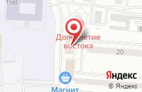 Схема проезда до компании Арис в Екатеринбурге