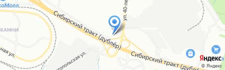 Be clean на карте Екатеринбурга