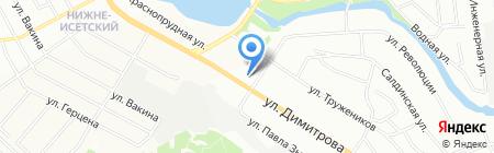 Рамазан на карте Екатеринбурга