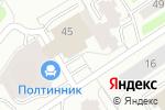 Схема проезда до компании Бабушкин комод в Екатеринбурге