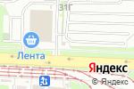 Схема проезда до компании Техком в Екатеринбурге