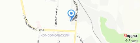 ProLine на карте Екатеринбурга