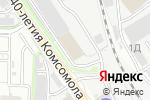 Схема проезда до компании Rinova в Екатеринбурге