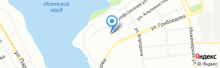 Супер-Тонер.ру на карте Екатеринбурга