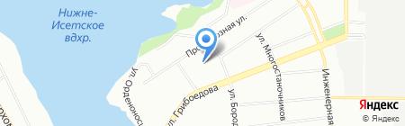 Детский сад №98 на карте Екатеринбурга
