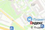 Схема проезда до компании Эввива в Екатеринбурге