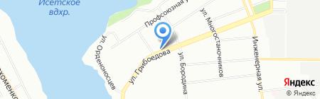 Сундучок на карте Екатеринбурга