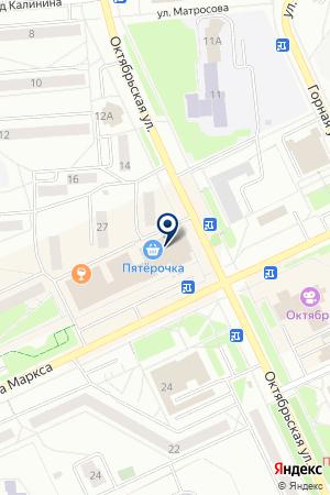МАГАЗИН BAFFETT (БАФФЕТТ) на карте Озерска