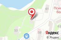 Схема проезда до компании Новинтех в Екатеринбурге