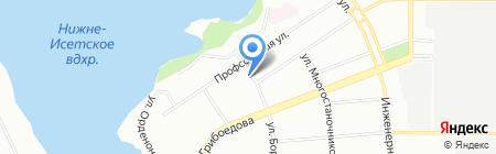 Юнимаркет на карте Екатеринбурга
