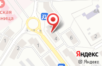 Схема проезда до компании Потребительский Гаражный Кооператив №192 в Озерске