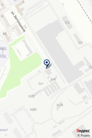 БЛАЗАР на карте Екатеринбурга