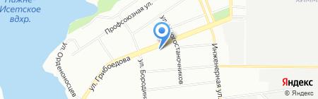 Банкомат РосинтерБанк на карте Екатеринбурга