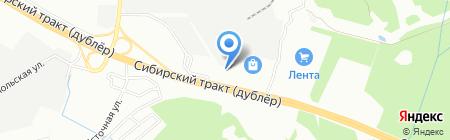 Конверспромторг на карте Екатеринбурга